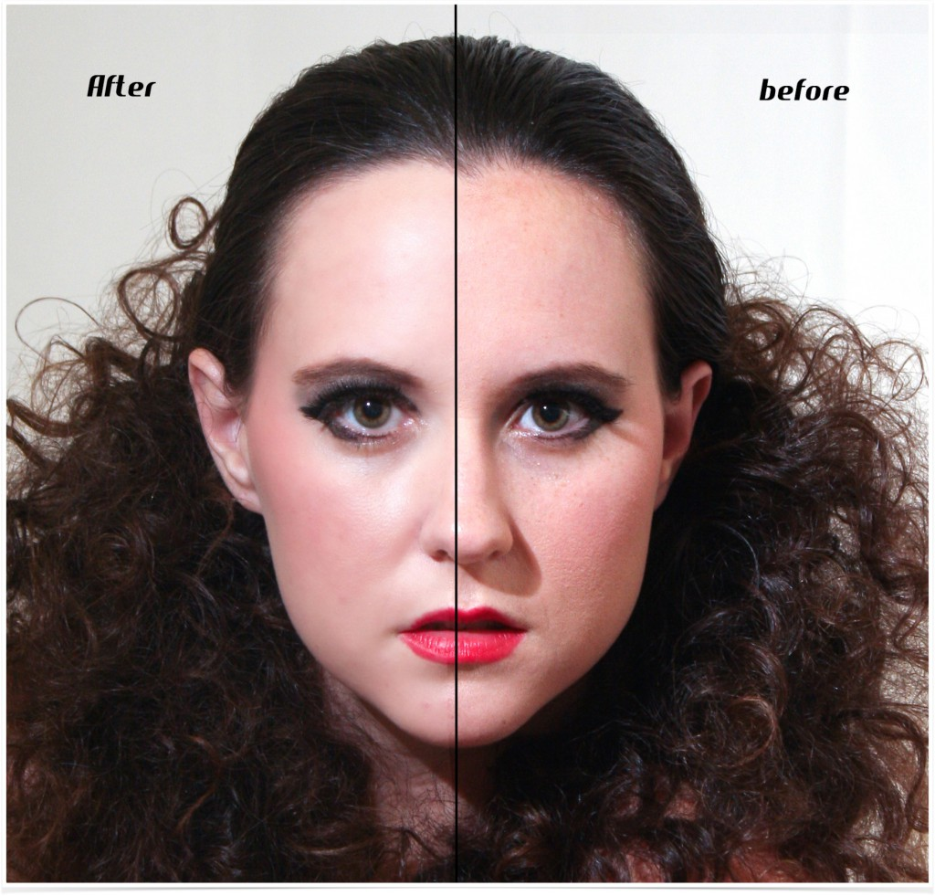Before And After Photoshop Portrait Retouching