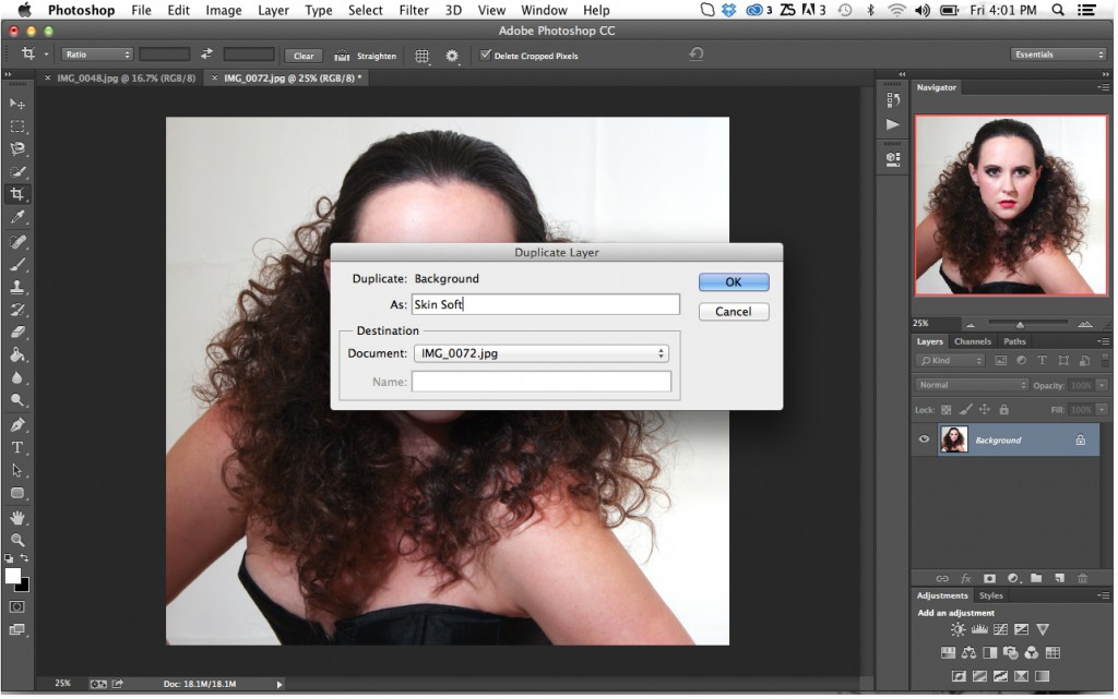 Rename Layer In Photoshop