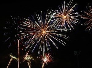 Shooting fireworks with DSLR