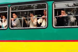 Good street photography china bus