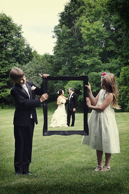 Wedding Photos Kids Frame