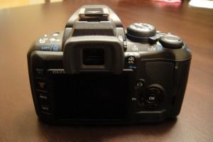 E-420 DSLR Camera
