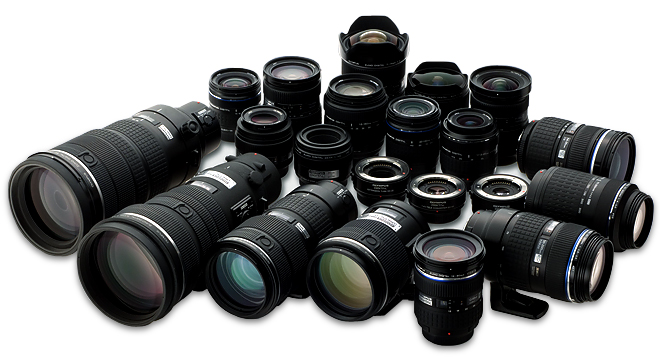 choosing camera lenses