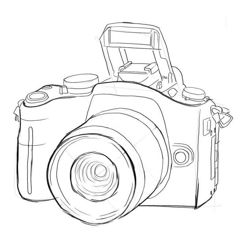 Line Drawing Your Photo : Five indicators that reveal you are a photographer phowd