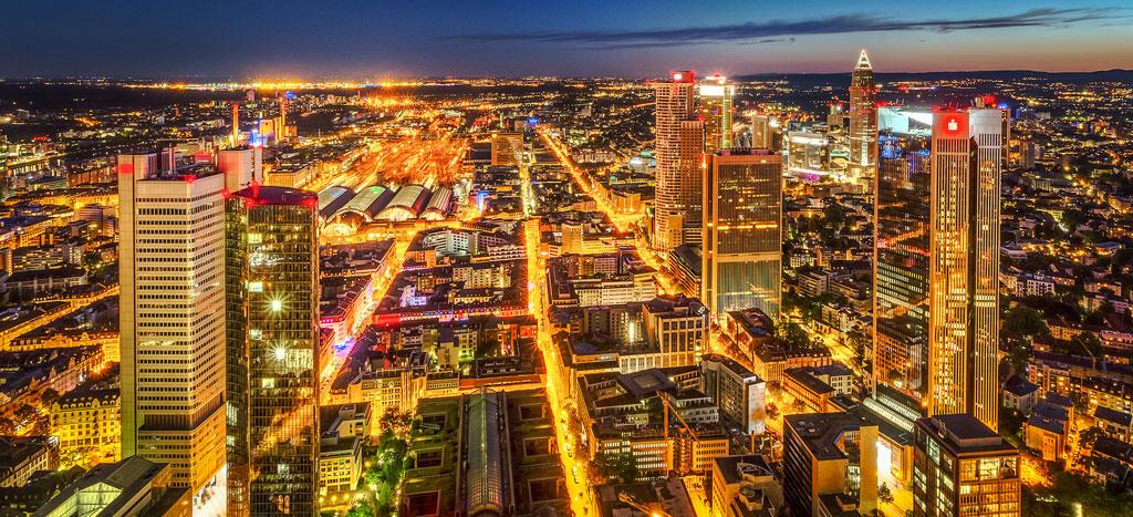 Frankfurt Skyline II - HDR