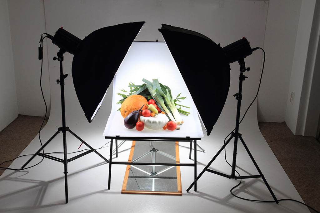 softbox light studio lighting shooting setup lights guide umbrella perfect tips phowd vegetable autumn professional setting photographers beginners handy using