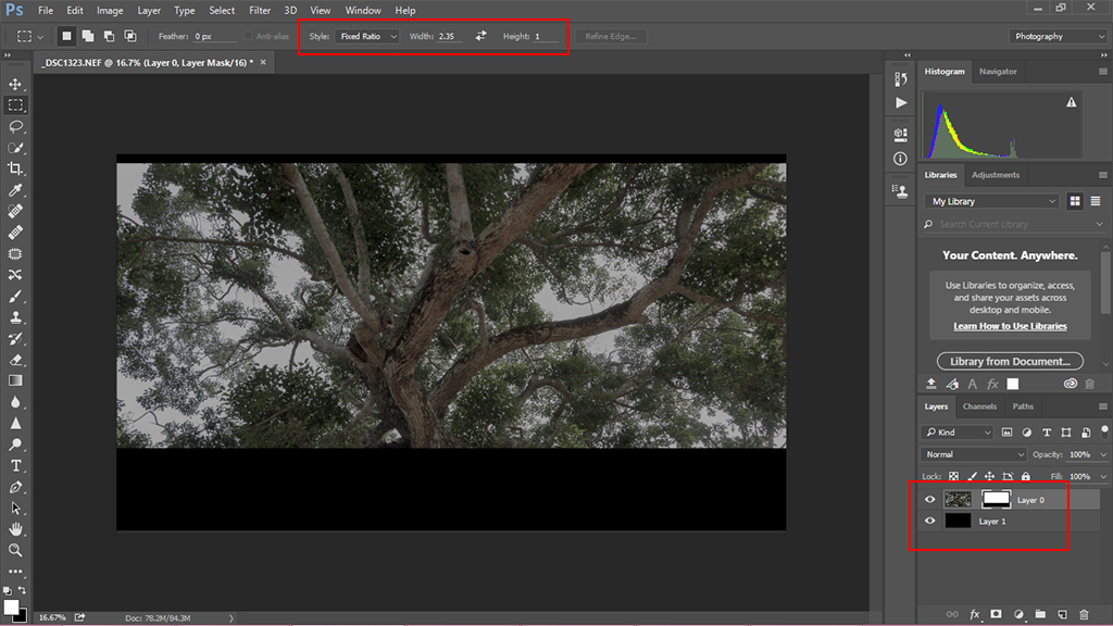 magic ratio for cinematic crop