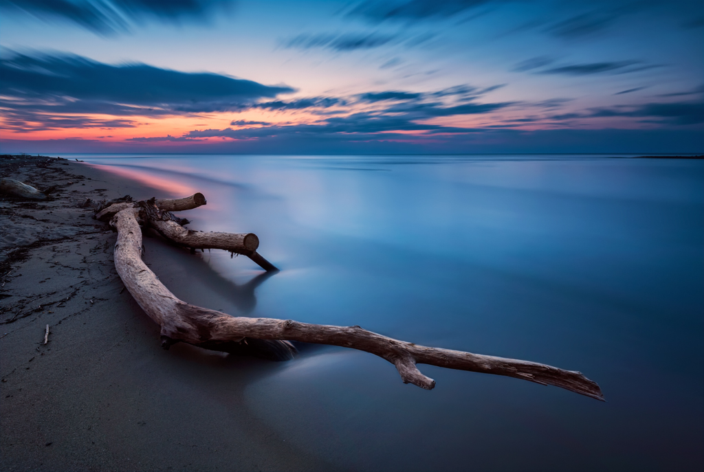 Blue magic - long exposure seascape before sunrise