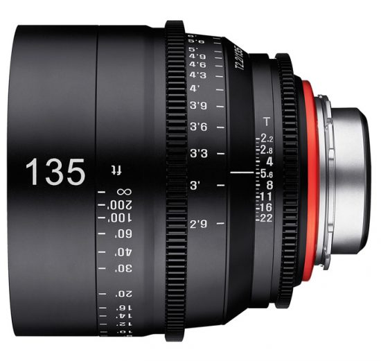 Samyang Officially Announced the Xeen 135mm T/2.2