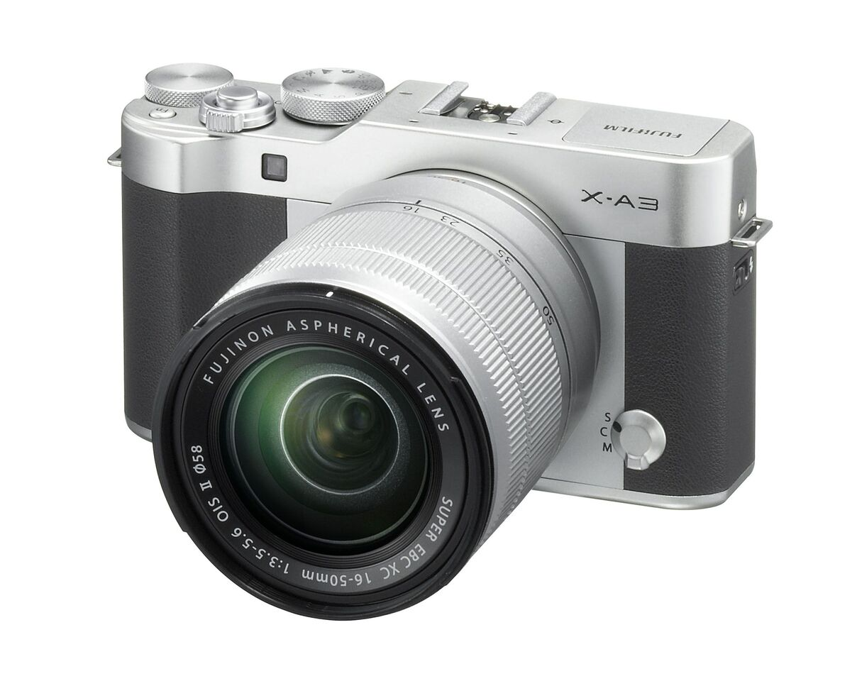 Fuji X-A3 is Now Officially Announced