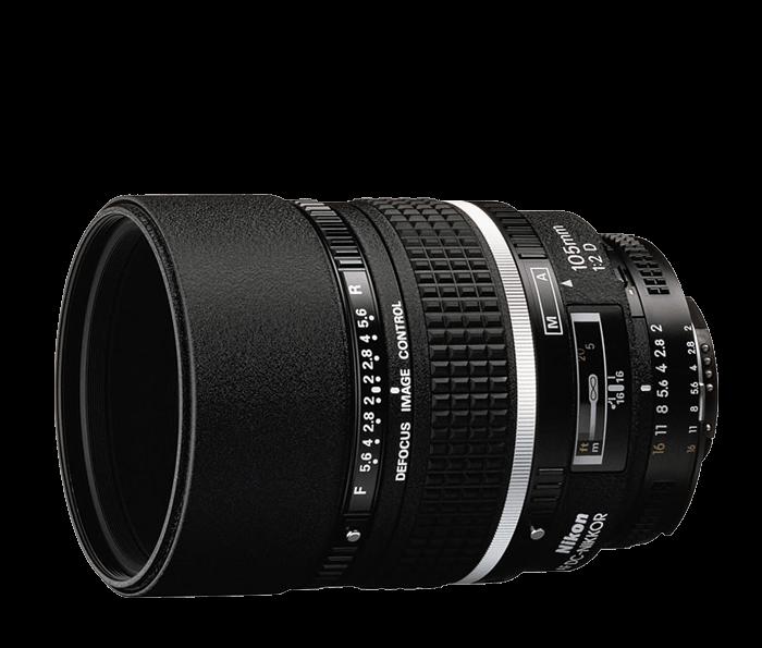 Nikon AF DC-NIKKOR 105mm f/2D Discontinued