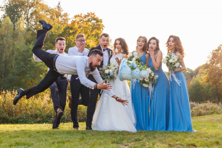 10 Unusual Creative Ideas for Wedding Photography
