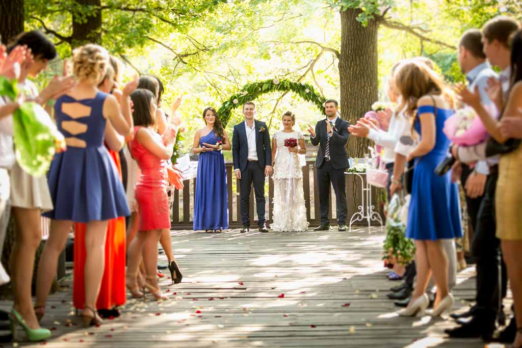 best metering mode for weddings
