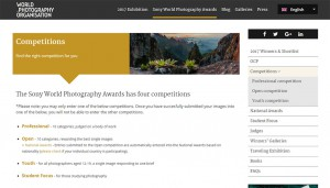 Sony World Photography Competitions
