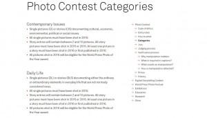 The World Press Photo Contest